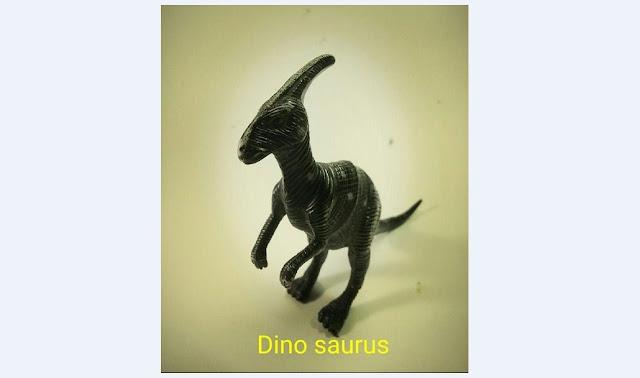 Tulisan ini Tercetus, Gara-Gara Ketemu Dinosaurus