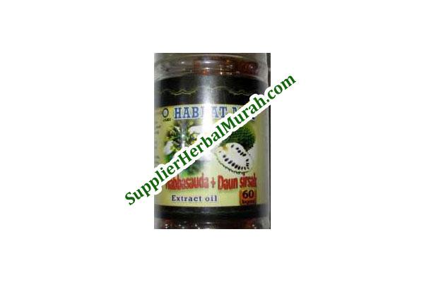 Extract Oil Habbasauda + Sirsak isi 60 Kapsul