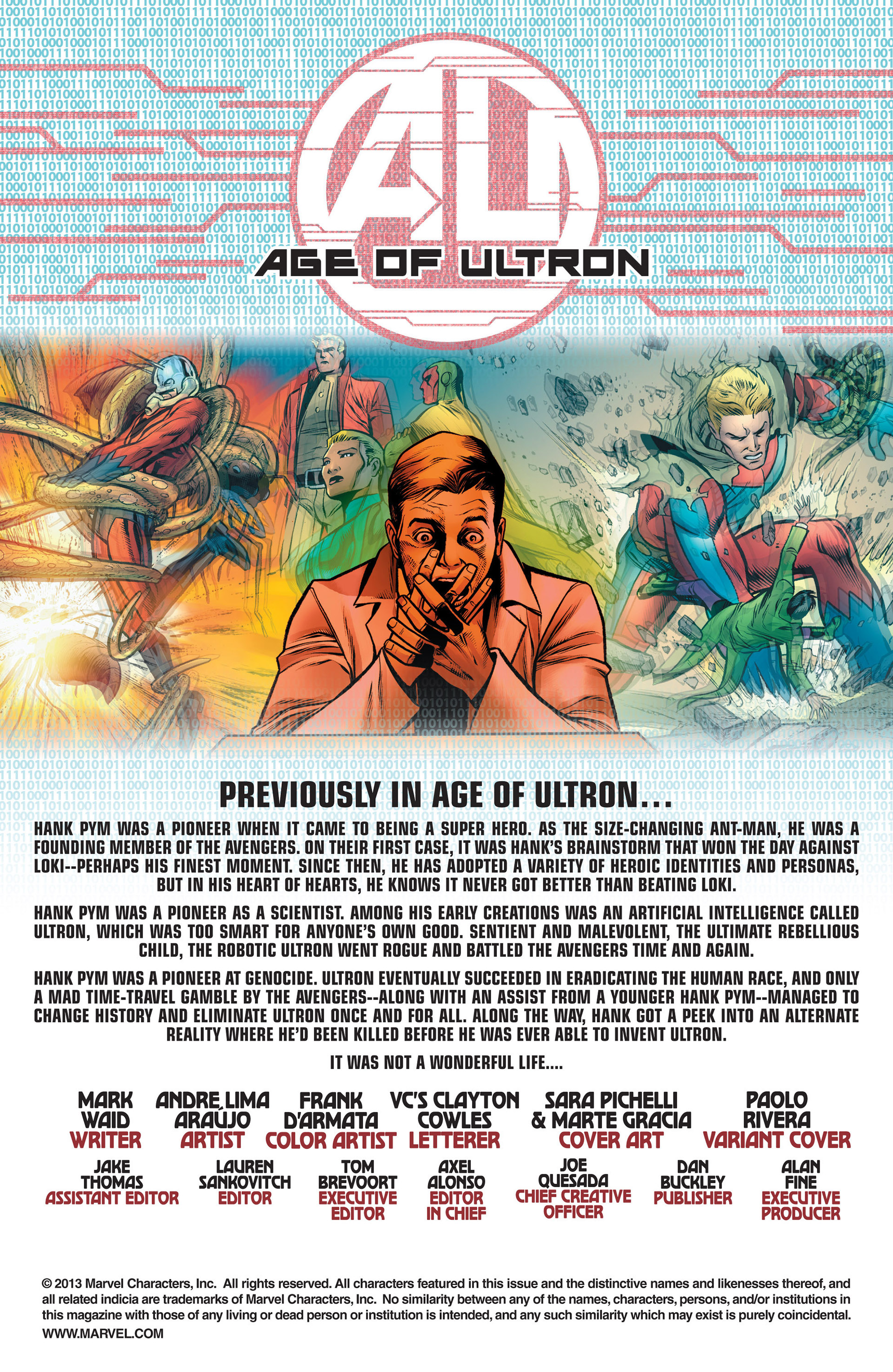 Read online Age of Ultron comic -  Issue #10AI - 2