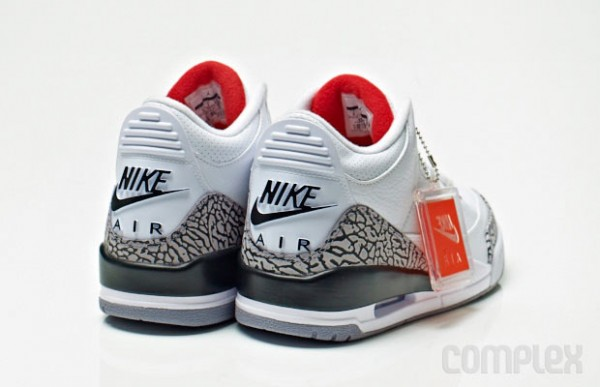 "best service af81e 7c4fa On Saturday, May 25th Footlocker.com will restock the Air Jordan 3 Retro  88  OG ""White Cement"" in men s and kids grade school sizes."