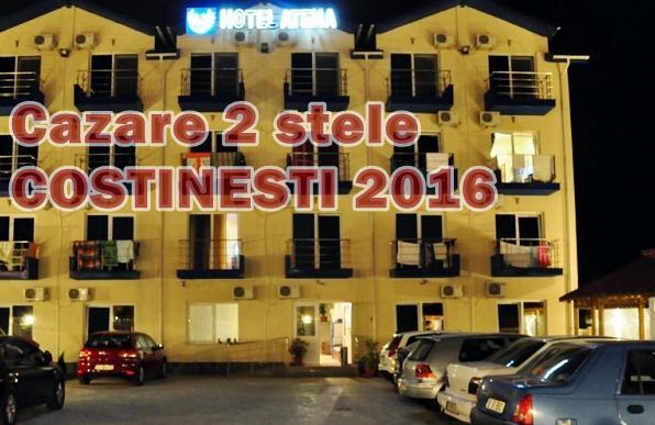oferte cazare hotel doua stele atena din costinesti