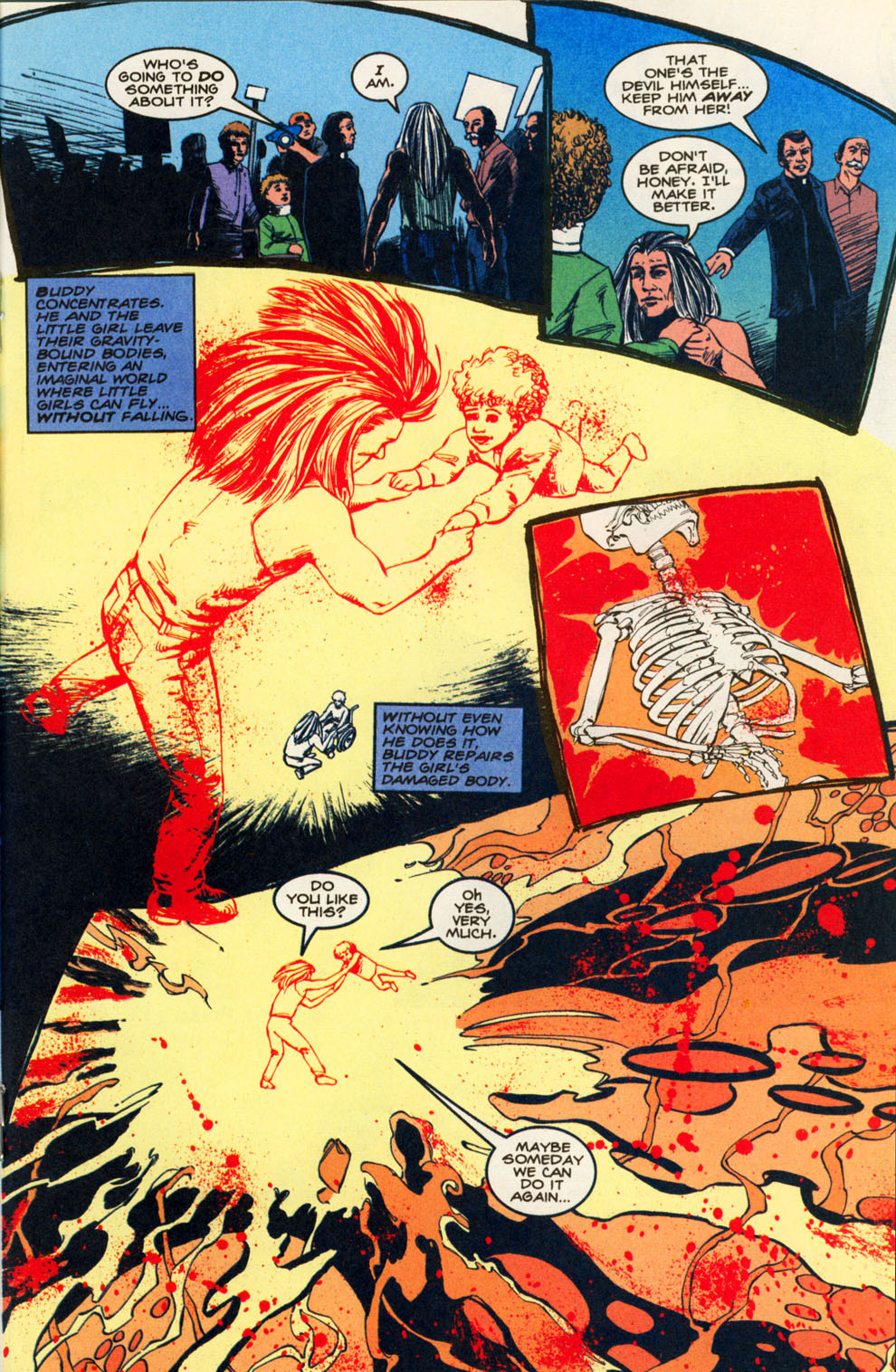 Read online Animal Man (1988) comic -  Issue #82 - 16