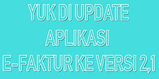 update efaktur pajak, efaktur pajak, efaktur pajak online