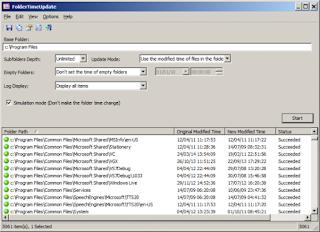 FolderTimeUpdate 1.52 Free Version