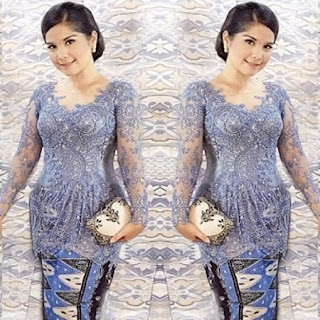 model kebaya akad nikah simple