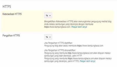 HTTPS telah aktif