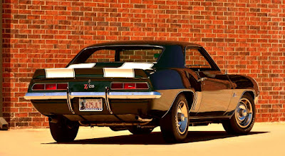 1969 Chevrolet Camaro Z28 Sports Coupe Rear Right