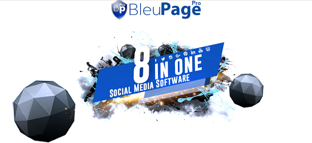 BleuPagePro One Click Social Media Publisher