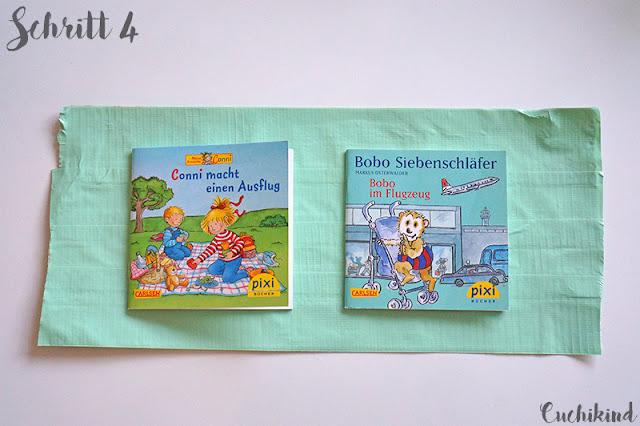 Pixibuchhülle aus Duck Tape
