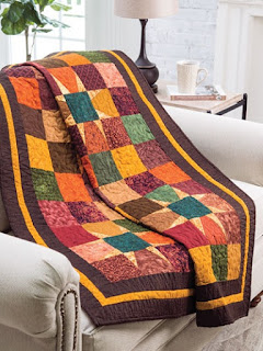 Harvest the colors of fall for your next quilt project