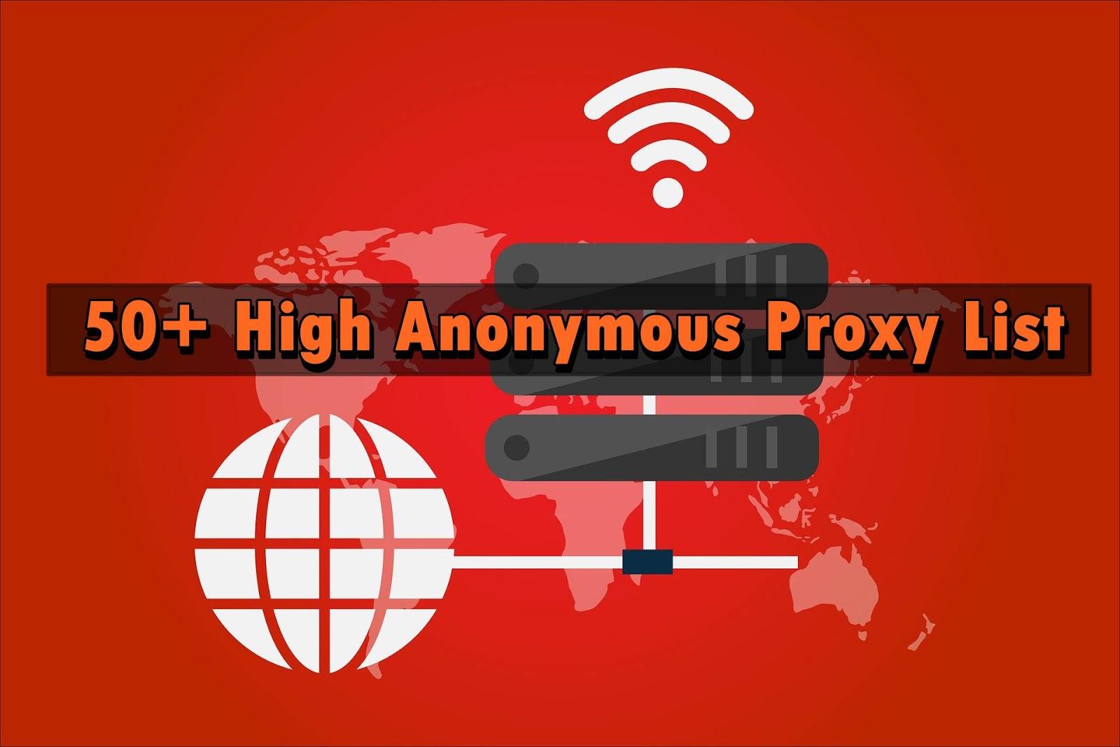 50+ High Anonymous Proxy List | United Arab Emirates, Nepal, United