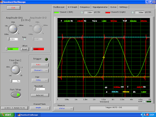Soundcard Oscilloscope.