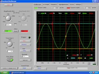 Soundcard Oscilloscope.