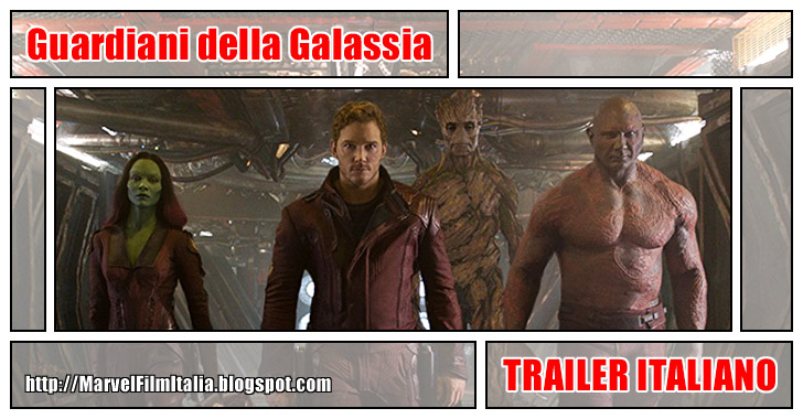 Marvel Film Italia: Guardiani della Galassia (2014) - Trailer italiano