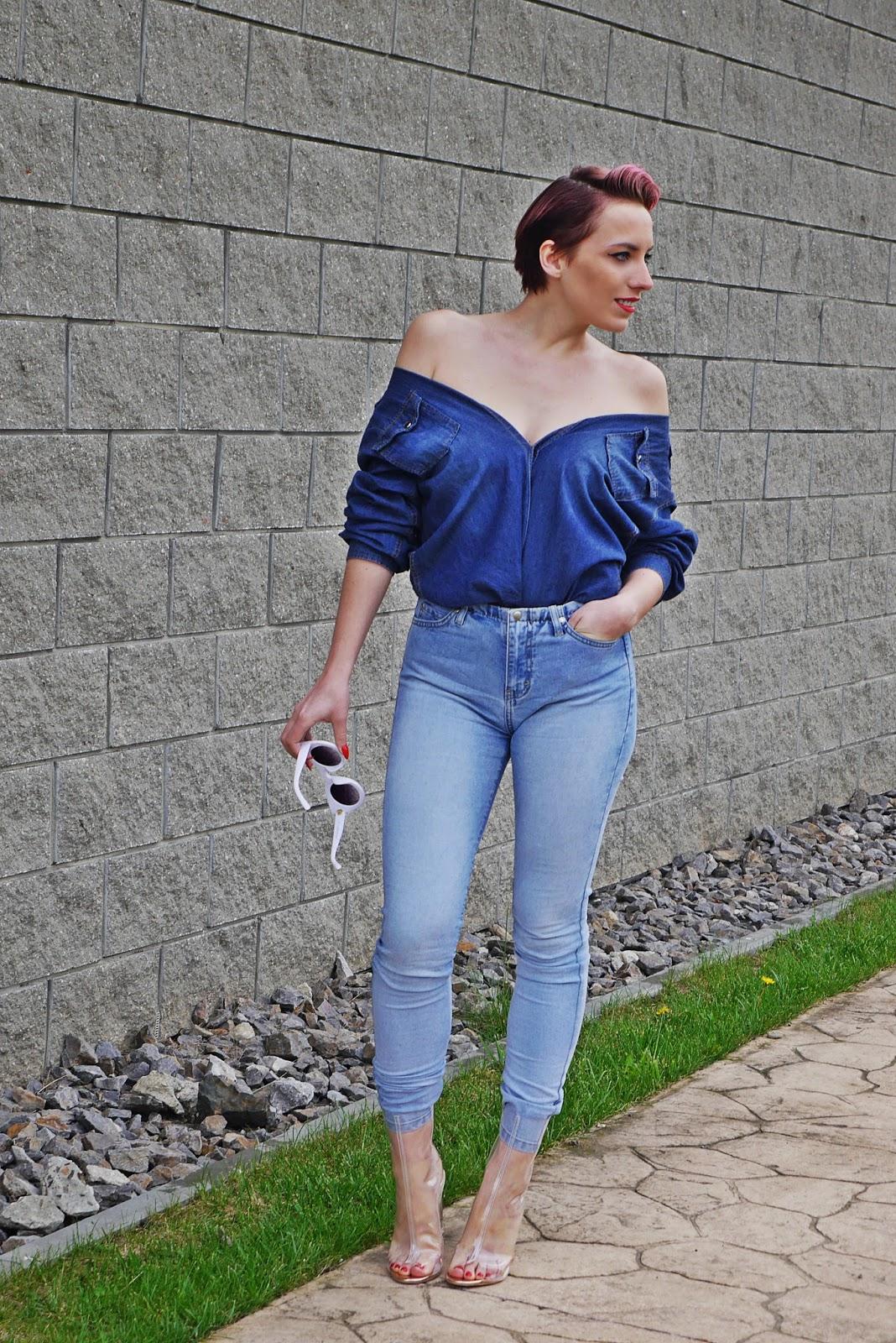 jeansowa_koszula_przezroczyste_botki_ootd_look_karyn_blog_050517