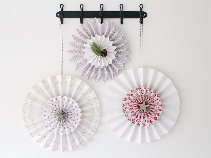 Easy Origami Hanging Decorations