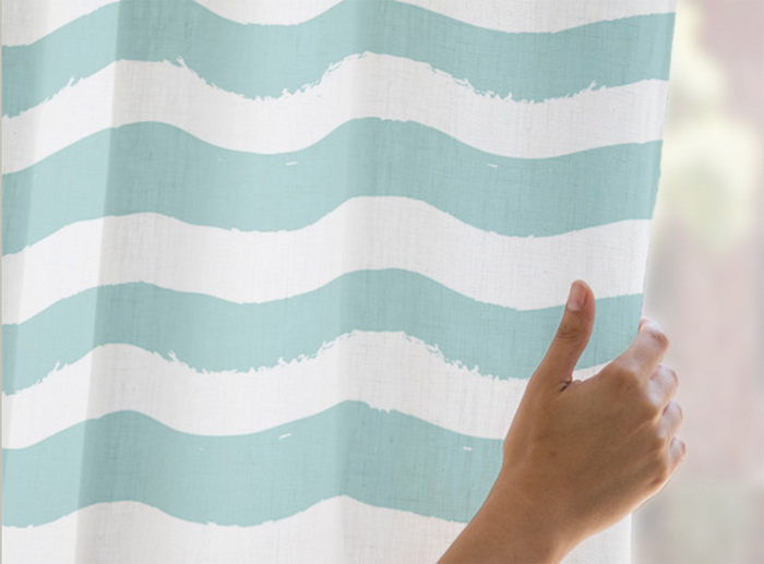 """How to Create Faux Roman Shades 