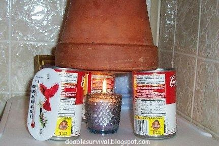 Survival And Preparedness On A Budget Terra Cotta Candle