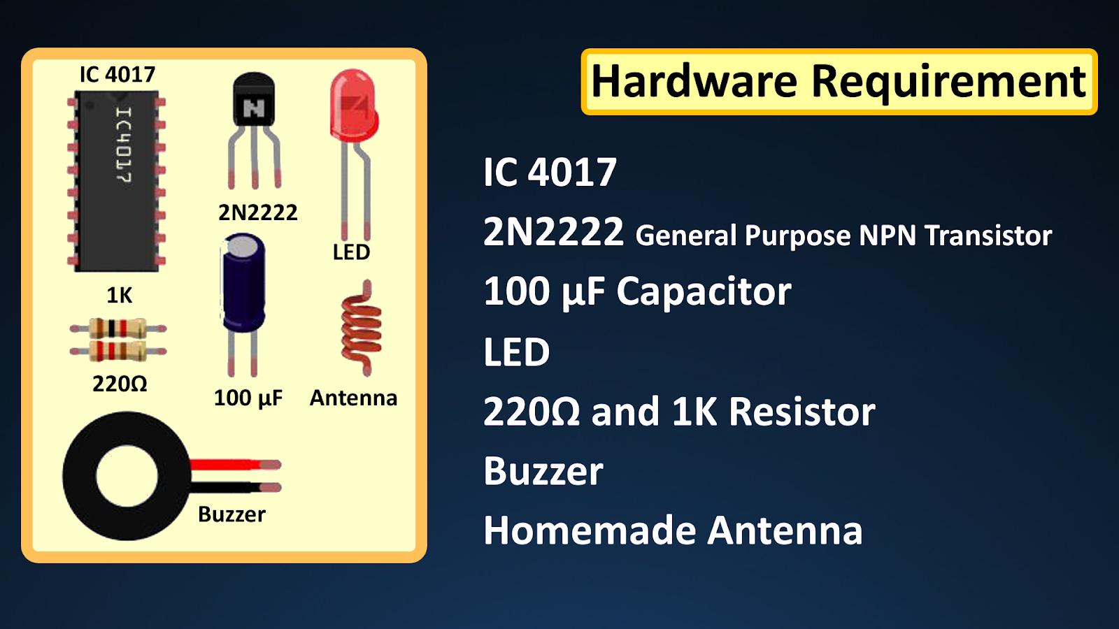 Contactless Voltage Detector - DIY Arduino, ESP8266, NodeMCU Projects