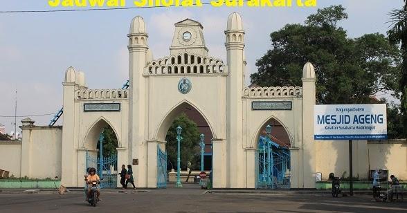 Jadwal Sholat Surakarta/Solo Hari Ini   Jadwal Sholat 2019