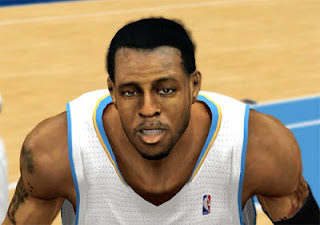 NBA 2K13 Andre Iguodala Cyber Face Patch