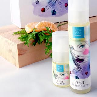 Perfume Bio y aceite reafirmante de AmapolaBiocosmetics