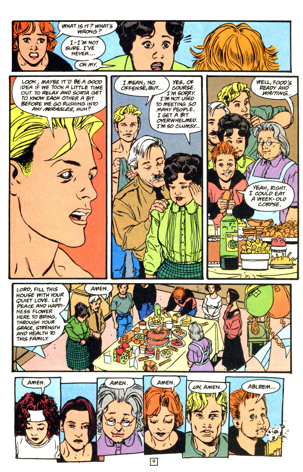 Read online Animal Man (1988) comic -  Issue #68 - 10