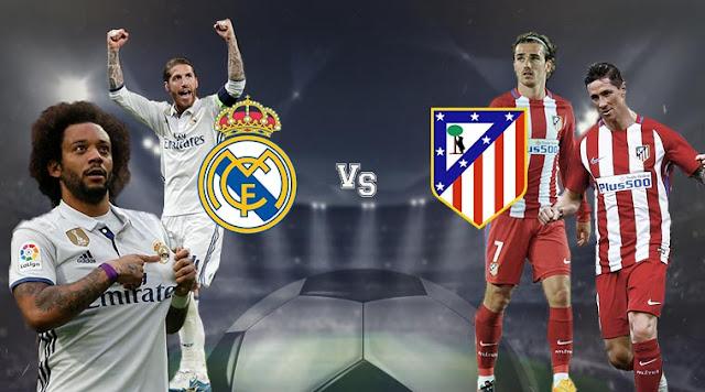 مباراة ريال مدريد واتليتكو مدريد بتاريخ 08-04-2018 الدوري الاسباني