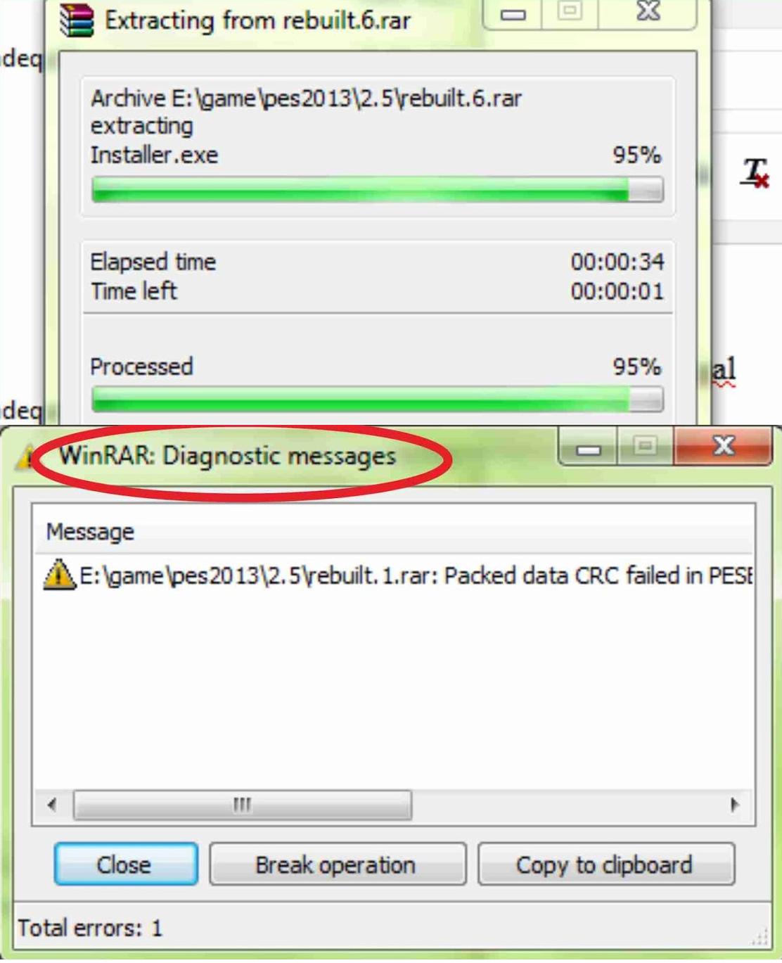 Memperbaiki File RAR / ZIP yang Rusak (Broken / Corrupt)