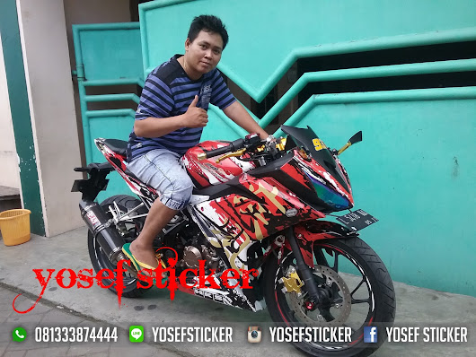 DECAL CBR 150 R FACE LIFT 2016 YOSEF STICKER SURABAYA
