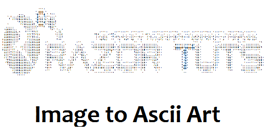 How to Convert Image to Ascii Art [Medium] - Tips Tricks and