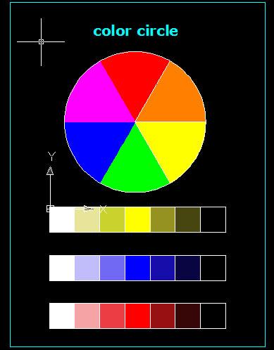 Lingkaran Warna : lingkaran, warna, SmanUSA, Kreatif, Belajar, RUpa:, Lingkaran, Warna, Gradasi