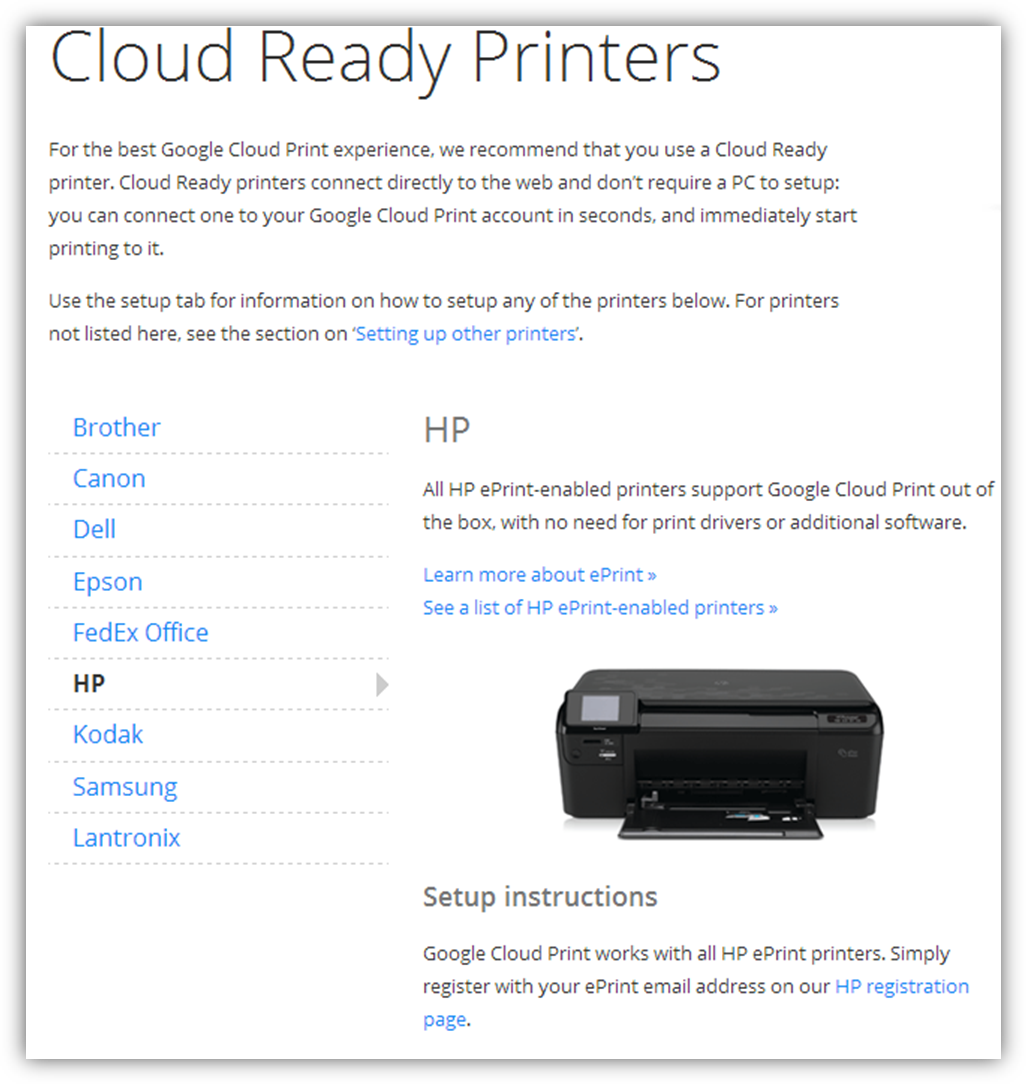 C l i n t ' s H i n t s: Distributing cloud printers to