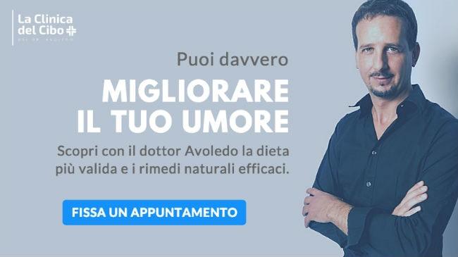 La dieta per la depressione: alla Clinica del Cibo di Milano con il dottor Avoledo