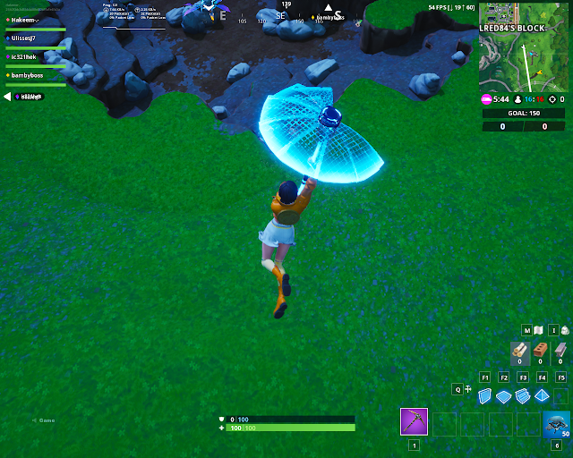 Accessible by using the Cuddle Up Emoticon inside a rocky umbrella FORTBYTE Mission #07