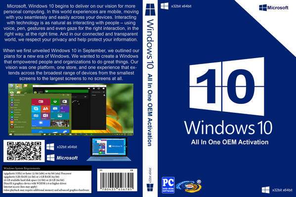 Windows 10 Fevereiro 2016 PT-BR windows 10 front cover 216243