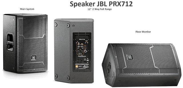 Harga Speaker Aktif 12 Inch JBL PRX712