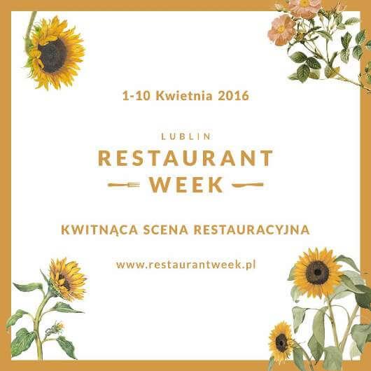 Restaurant Week Lublin 2016 Ambasadorzy Dawid Furmanek mEATing blog blogger kulinarny warsztaty i pokazy kulinarne studio gastronomiczne doradztwo gastro dla restauracji HoReCa