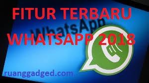 Wajib Diketahui! Inilah Fitur Terbaru WhatsApp 2018