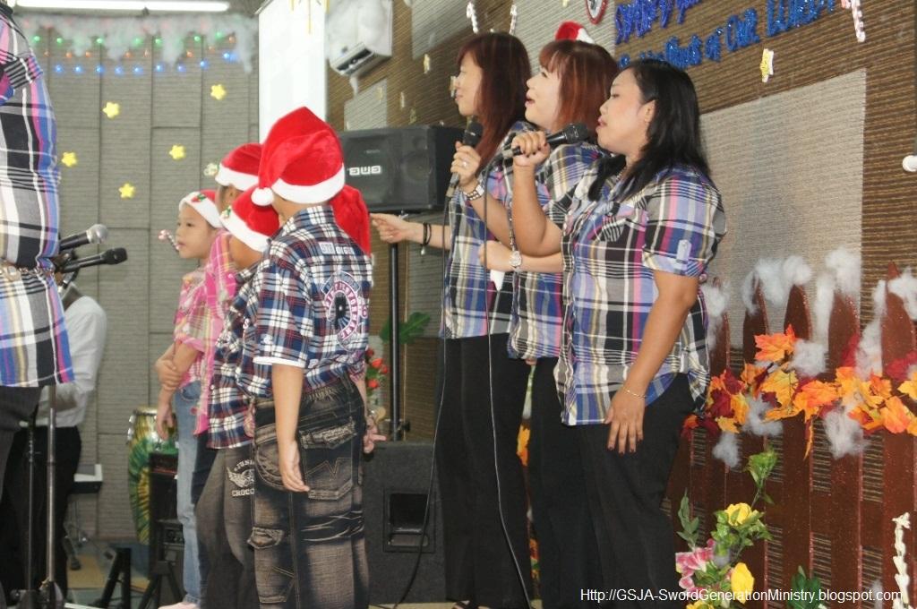 perayaan Natal GSJA Sword 17 Des 2011