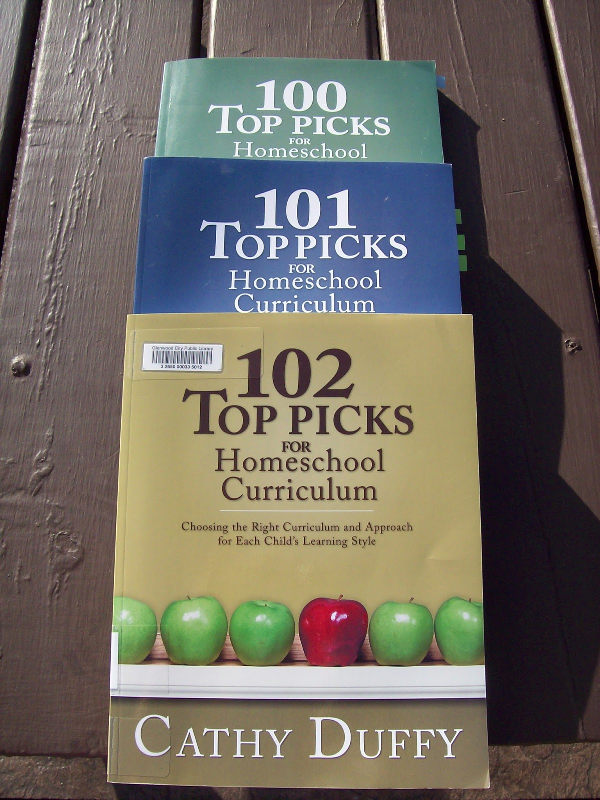 I've been a huge Cathy Duffy fan since I first learned of her curriculum  reviews. I remember checking out 100 Top Picks for Homeschool Curriculum  several ...