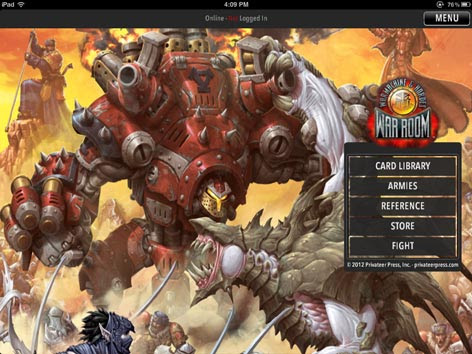 Warmachine/Hordes War Room App Review