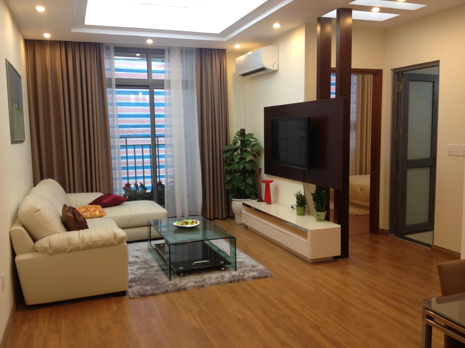 Phòng khách sang trọng tại chung cư An Bình City - 232 Phạm Văn Đồng