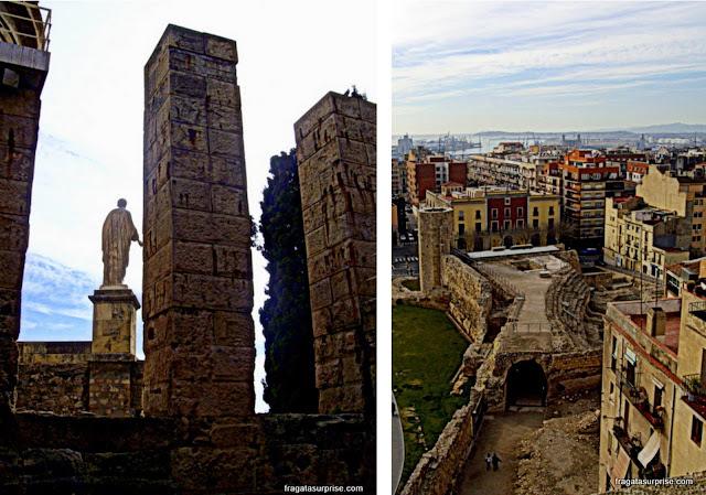 Fórum e  Circo Romano - Tarragona - Catalunha