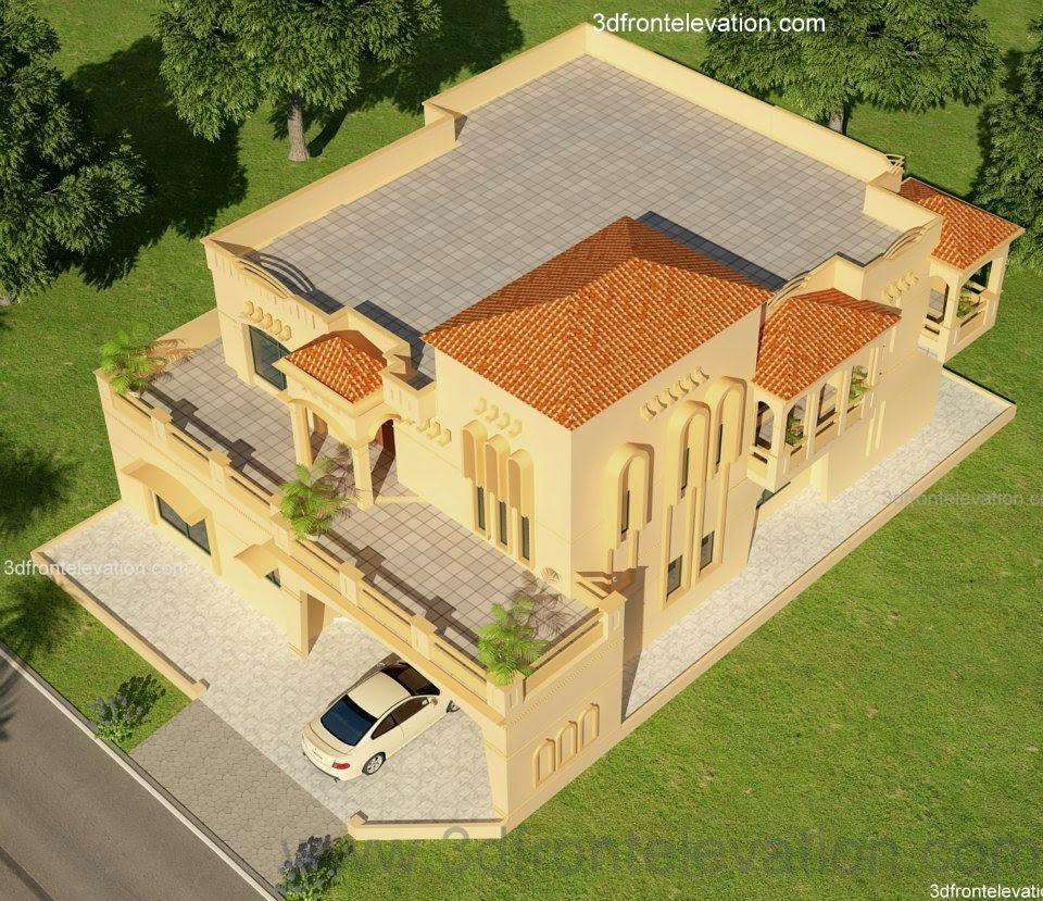 3D Front Elevation.com: Lahore 2 KanaL House Design Lahore