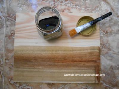 madeira acizentada como fazer
