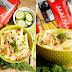 Cytrynowa sałatka makaronowa z łososiem, koperkiem i świeżym ogórkiem (6 składników)