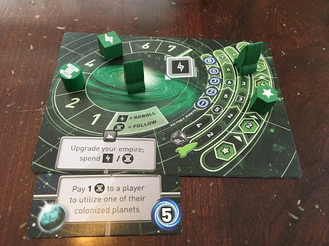 Tiny Epic Galaxies by Gamelyn Games Beyond the Black Expansion