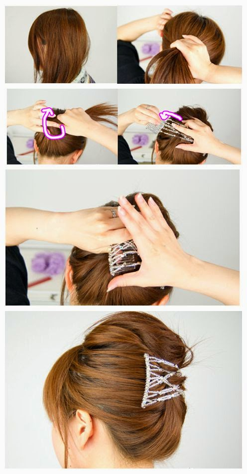 How to Make Easy Office Hair Updos