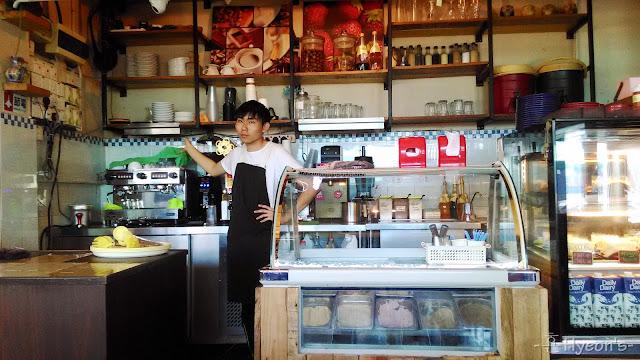 High Tea @ Breadboss Bakery Cafe; Counter